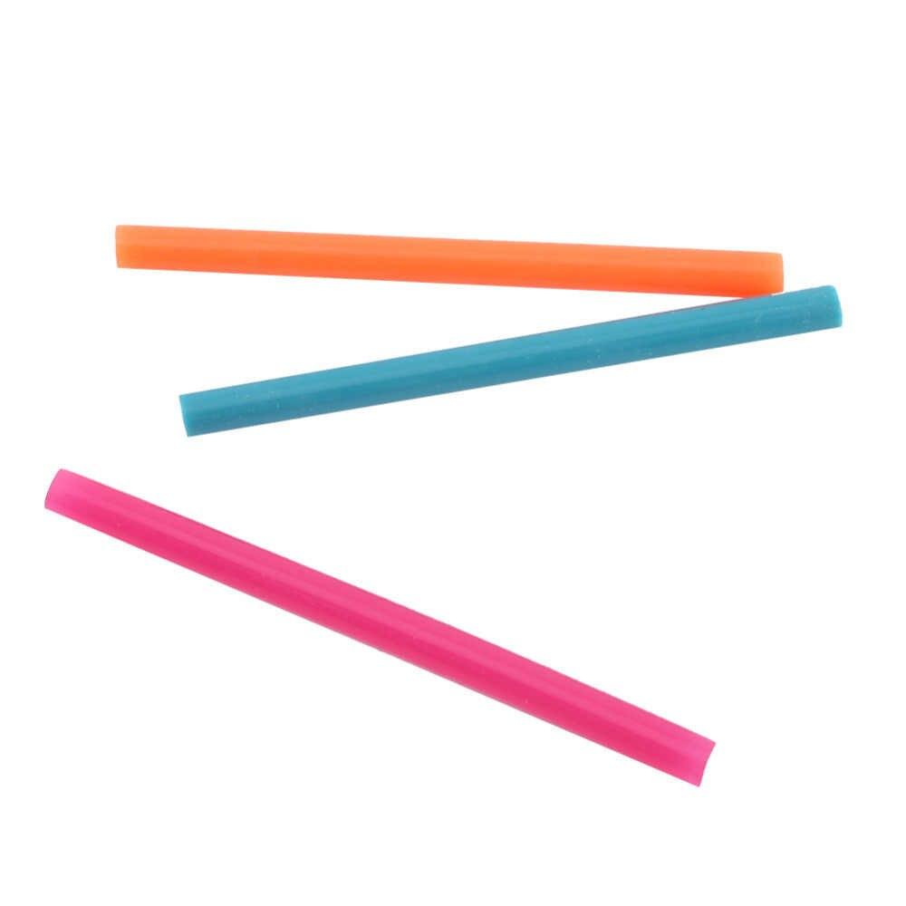 الجملة 14 قطعة/الوحدة مزيج اللون صمغ يسيح بالحرارة عصا لاصقة العصي عدة الحرفية إرفاق عدد وأدوات