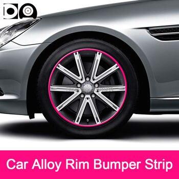8 метров литые диски обода анти-столкновения полосы автомобиля Стайлинг для Tesla модель 3 X S родстер >> Shop1391939 Store
