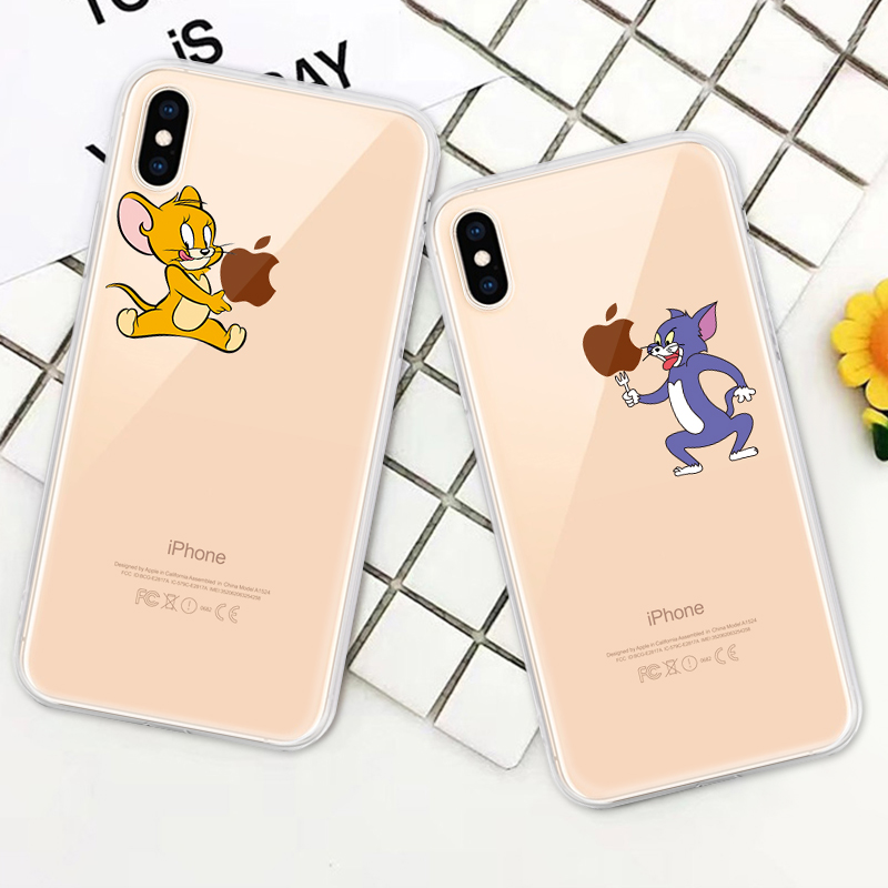 Soft Silicone TPU Cool Pattern Phone Shell For iPhone Models 6