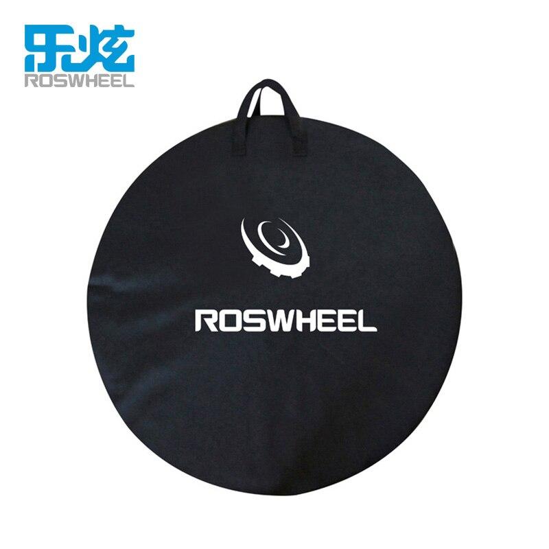 1pcs ROSWHEEL MTB Mountain Road Bike Wheel Bag Wheelset Bag Transport Pounch Carrier organizer bags Bicycle storage bag