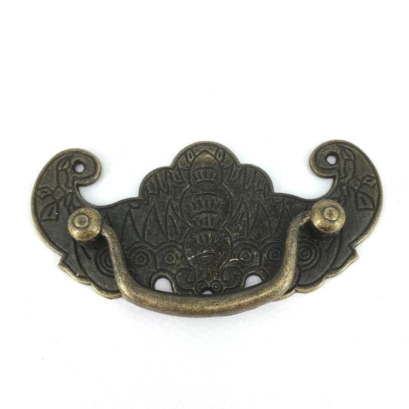 Cc 70mm Antique Zinc Alloy Bat Shape Drawer Handle Kitchen Bedroom Furniture Closet Dresser Handles Pulls Bar