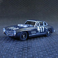 High Simulation Exquisite 1:64 Benz 300SL 417 Mille Miglia Diecast car Collection Model Gift