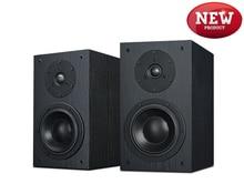 New HiVi Diva 2-Way 2-Driver Bookshelf Speaker 6.5-Inch Woofer bass reflex system top sound quality Loudspeaker(pair)