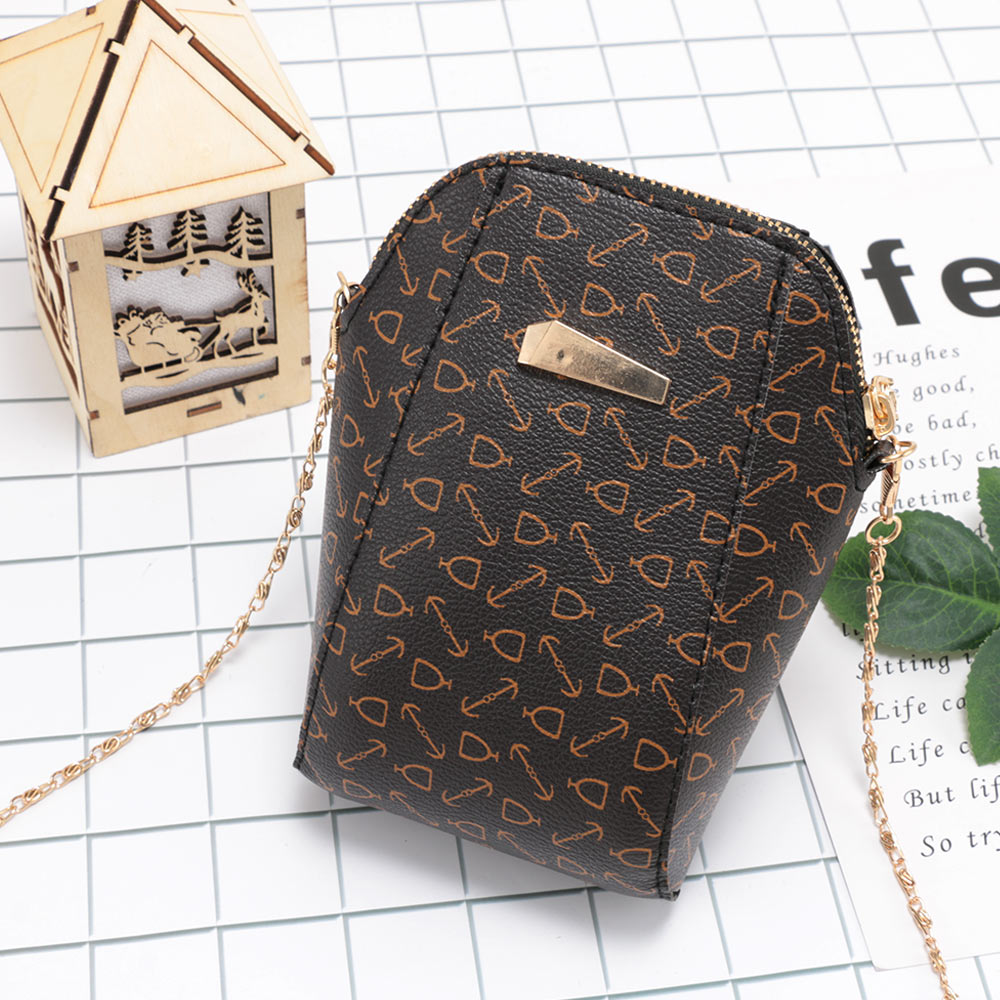 1 Pc Frauen Einkaufstasche Nette Mini Shell Handy Crossbody Blume Schulter Messenger Taschen Kette Kleine Tasche Mädchen Geldbörsen