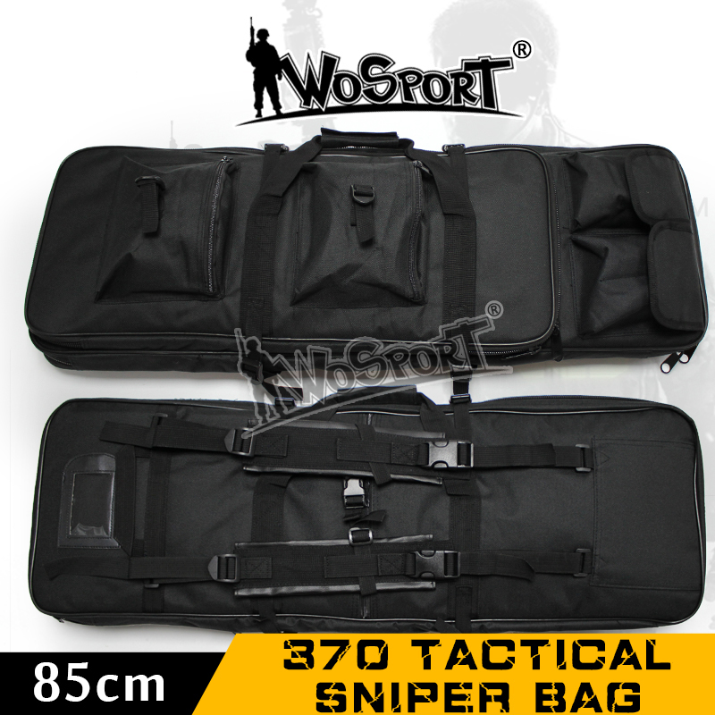 WoSporT Tactical Sniper Outdoor Military Army Hunting Gun Bag War Game Airsoft Nylon Rifle 85CM 370