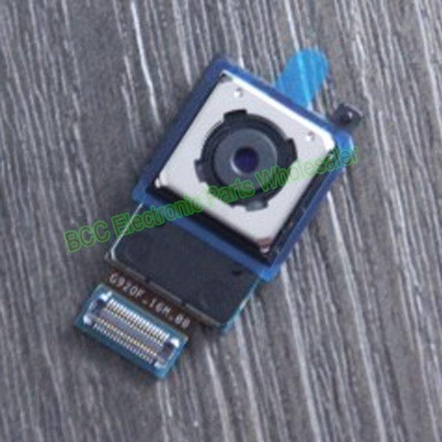 For Samsung Galaxy S6 G920F G920V G920P G9200 G9208 G9209 back rear main big camera Lens module Flex ribbon Cable +tracking