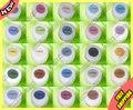 Maquiagem cosméticos Sheer Lustre Minerals Eyeshadow 25 cores Glitter Eye sombra atacado ( paleta de Concealer Foundation Plumper 1 pcs