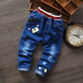2016 nova primavera calças meninos calças Jeans Infantil menino roupas de bebê crianças menino harém calças de algodão de malha roupas