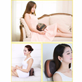 Massage Devices Car Home Dual-use Electric 4 Deep-Kneading Massage Balls Shiatsu Massager with Heat Neck Relaxation Pillow