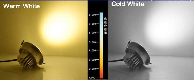 Затемнения светодиодный Подпушка свет 5 Вт 7 Вт 9 Вт пятно светодиодный Подпушка затемняемый УДАРА светодиодный пятно встраиваемые Подпушка...