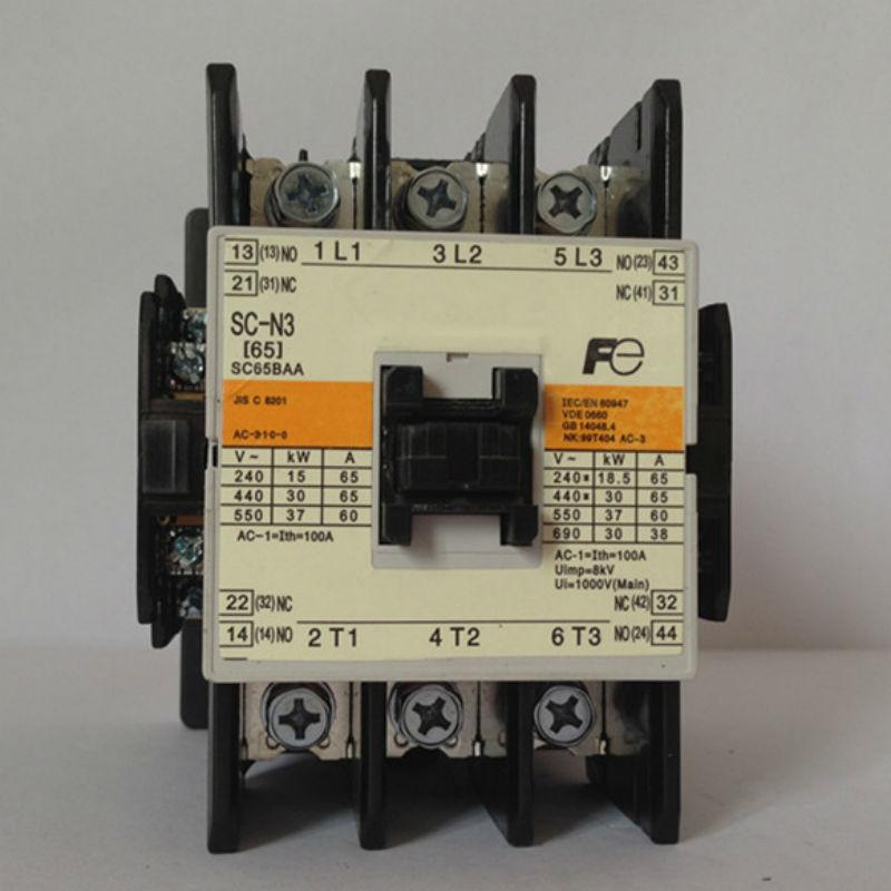 Japan AC contactor SC-N3 (SC65BAA) AC110V AC220V new lp2k series contactor lp2k06015 lp2k06015md lp2 k06015md 220v dc