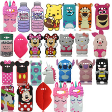 New 3D Cute Cartoon Soft Silicone Phone Back Case Cover Skin For Samsung Galaxy Grand Prime G530 Core Prime G360 цена
