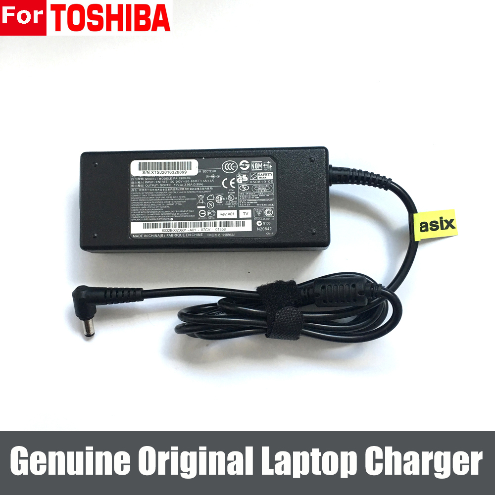 Genuine Original 90W 19V 4.74A AC Adapter Charger Power Supply For Toshiba Satellite A205-S5804 A205-S5825 A215-S4757