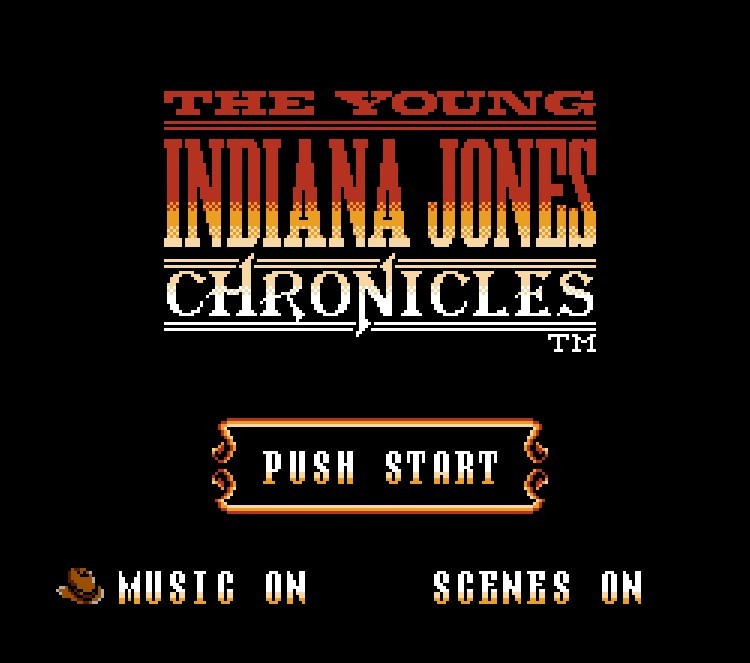 Young Indiana Jones Chronicles <font><b>Game</b></font> <font><b>Card</b></font> For <font><b>72</b></font> <font><b>Pin</b></font> 8 Bit <font><b>Game</b></font> Player image