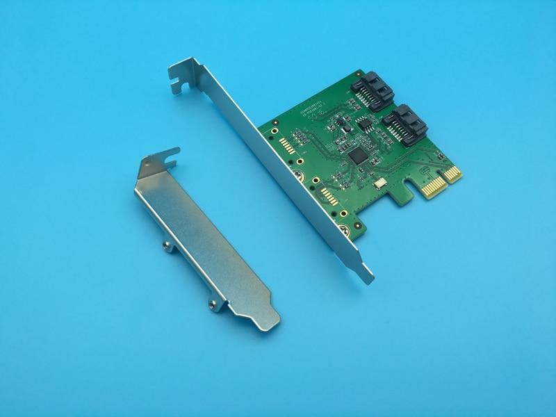 High Quality 2 Internal Port SATA 3.0 6Gb/s RAID0 RAID1 SPAN PCI-Express RAID Controller Card mini pci express 2 0 asm1061r chipset sata 6gbps raid controller card 2 port sata 3 0 support raid0 raid1 span