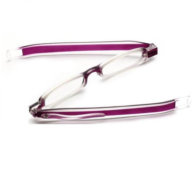 e6b43a522 R17 360 درجة دوران للطي البسيطة القلم نوع نظارات للقراءة PODREADER الأزياء  الراتنج للطي نظارات قصو