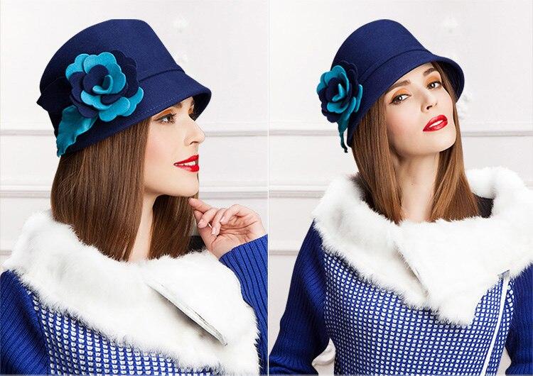 2_woman wool felt hat
