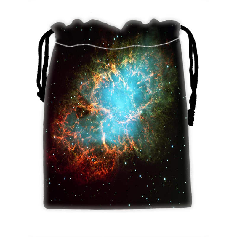 Custom COOL Galaxy Drawstring Bags For Mobile Phone Ablet PCjewelry Gift Packaging Bags Christmas Gift Bags SQ0709