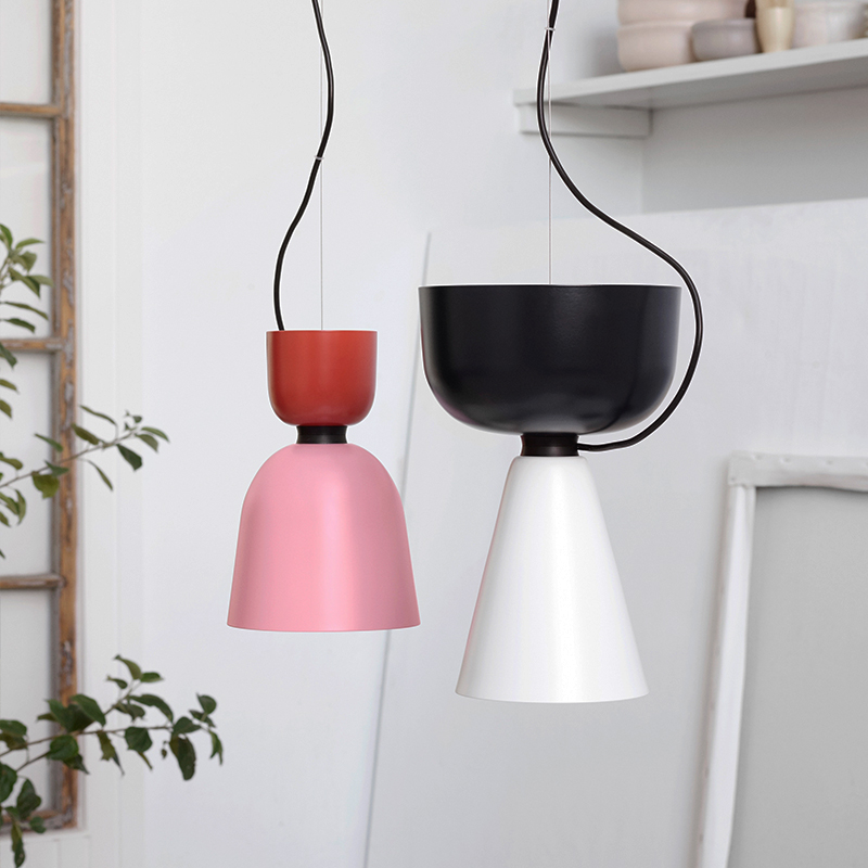 LukLoy Modern Pendant Lights Lamp, Kitchen Island Dining Living Room Shop Decoration, Colorful Pendant Lights Kitchen Light lukloy pendant lights lamp vintage iron retro kitchen pendant lamp light for dining room kitchen island decor e27 e26 luminaire