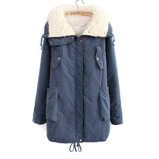 4Colors 4XL 5XL 6XL XL XXL XXXL XXXXL Casual Women Jacket Coat Female Parka Outwear Plus Big Size 2013 Winter Autumn