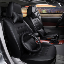 new auto car seat covers pu leather for KIA Freddy K2 K3 K4 K5 k7 K3S CERATO Carnival Optima RIO SORENTO Carens Sportage Cadenza недорого