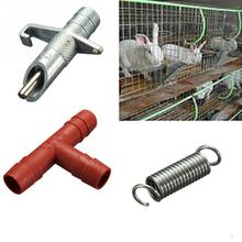 10pcs/lot Automatic Nipple Water Feeder Drinker Waterer For Rabbit Bunny Rodents