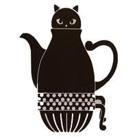 Japanese Cat Teapots Cute Coffee Sets Creative Cartoon Tea Pot Cup Ceramic Home Milk Mugs Cute Japanese Teapot 1 Pot and 2 Cups
