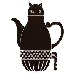 Gato japonês Bules Bonito Jogos de Café Bule de Chá Xícara de Cerâmica Canecas de Leite Em Casa Criativa Dos Desenhos Animados Bonito Bule Japonês 1 Pot e 2 Copos