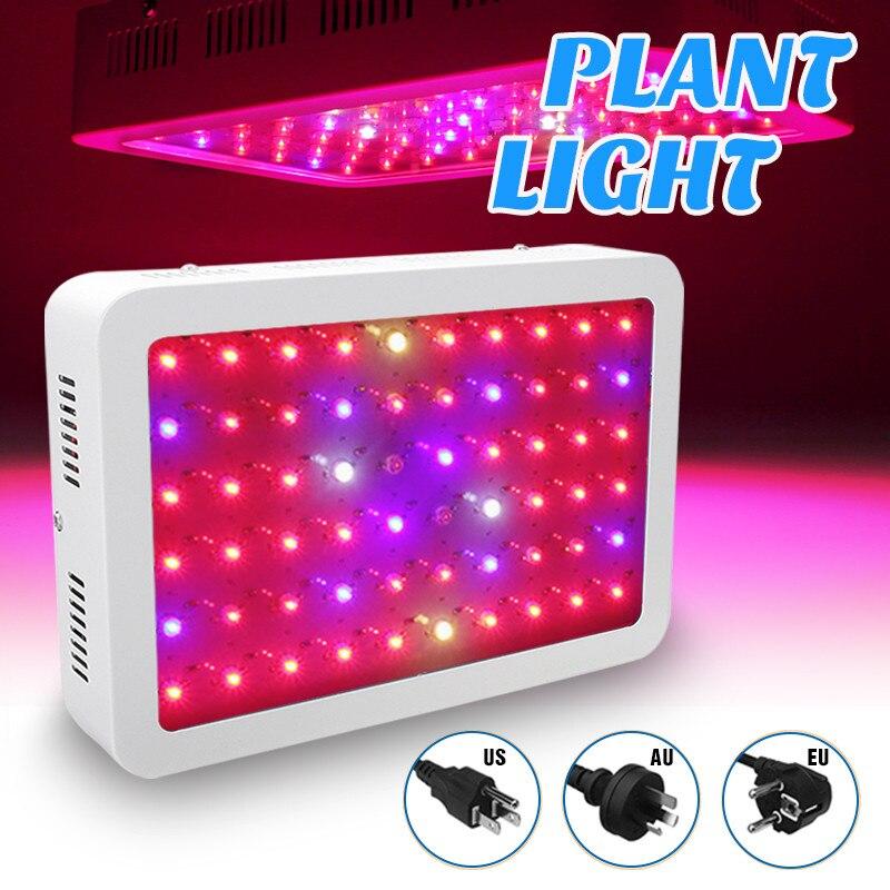 1000 w 60LED Plein Spectre LED Élèvent La Lumière Rouge/Bleu/Blanc/UV/IR Lampe de Croissance Pour serre d'intérieur Hydroponicstent Plantes