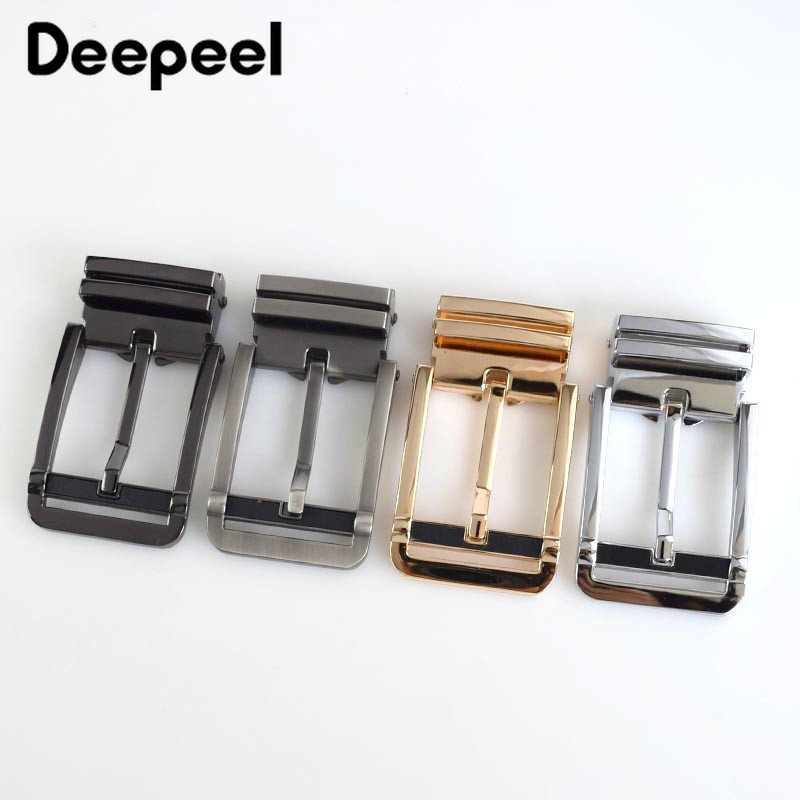 Fashion Men Belt Buckles High Quality Metal Pin Buckle Belt Clip Buckles Width 34mm Belt Boucle De Ceinture DIY Leather Crafts