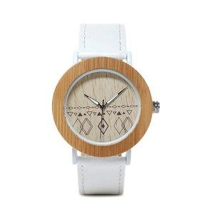 Image 3 - BOBO kuş WE24 Unisex en iyi marka tasarımcısı kadınlar için kol saatleri doğa bambu ve çelik saatler hediye kutuları Dropshipping OEM