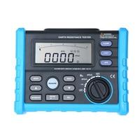 Earth Resistance Ground Resistance Ground AC Voltage Measurement Digital Earth Resistance Meter 2/3pole Modes 0V~200V