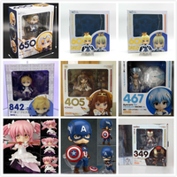 10CM Nendoroid Japan Anime Fate Iron Man Figurine Dolls Toys PVC Action Figure Collectible Model Toy Kids Gift