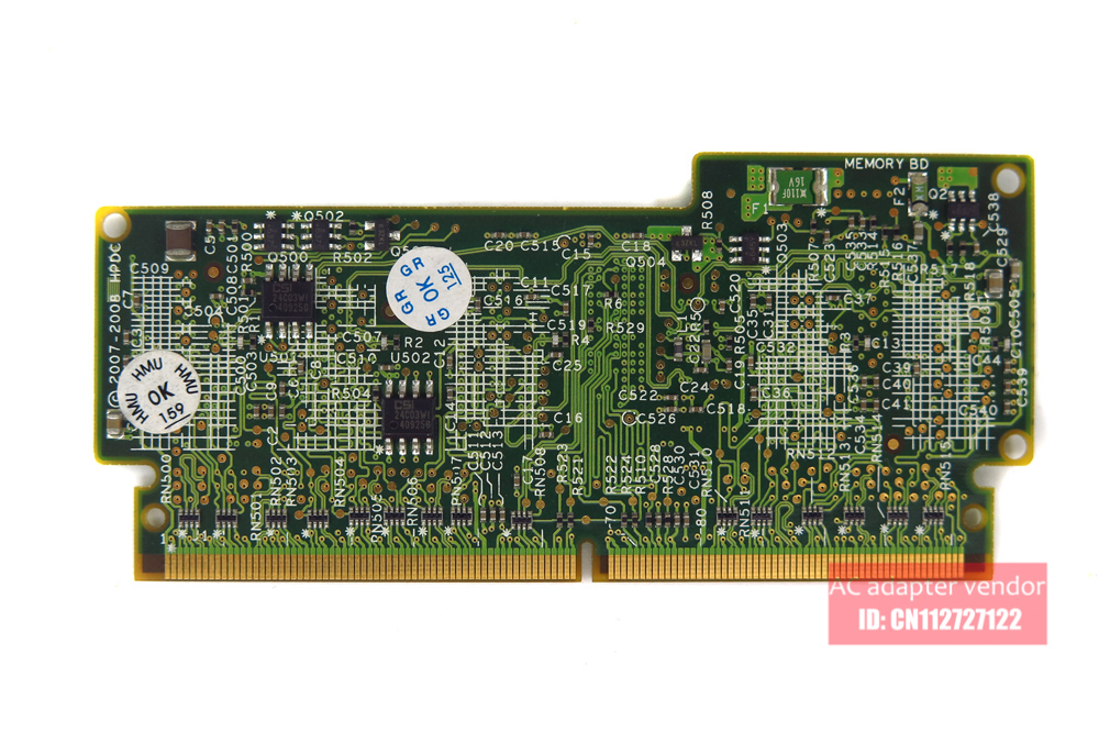 FOR HP P212/P410/P410I/P411 array cache card 512M 013224-002 462975-001