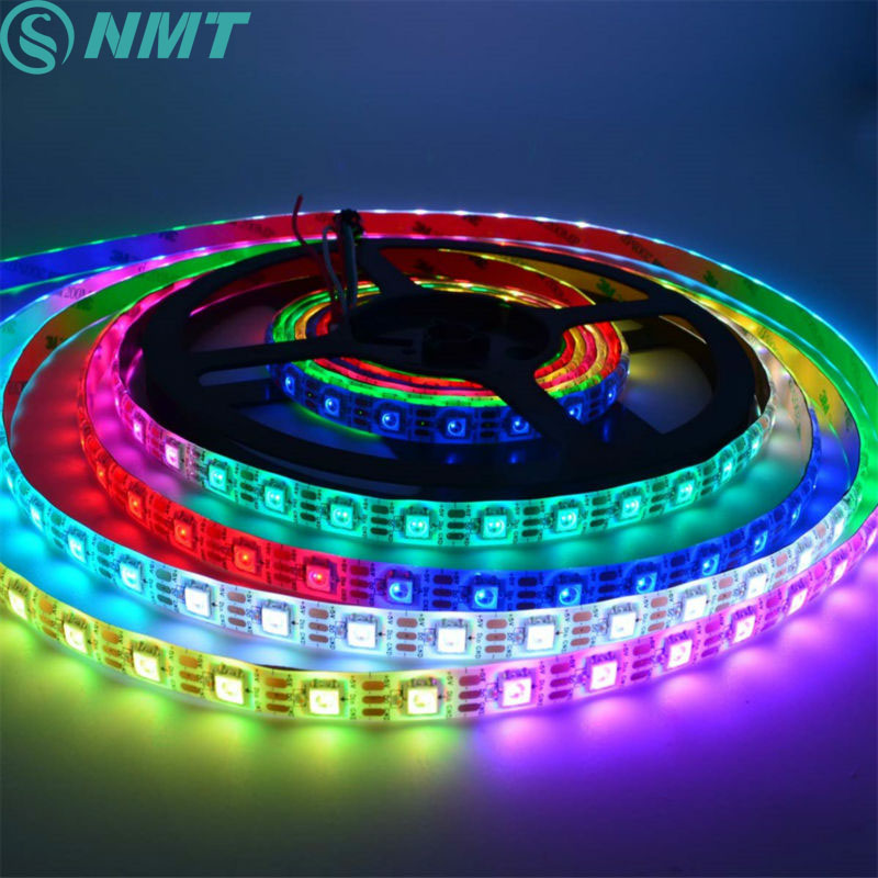 Led Strip 5m DC5V SMD5050 WS2812B Pixel s