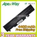 Apexway batería 4400 mah del ordenador portátil para fujitsu amilo v2030 v2035 v2055 li1705 l1310g serie smp-lmxxfs2 sol-lmxxml6 smp-lmxxps6