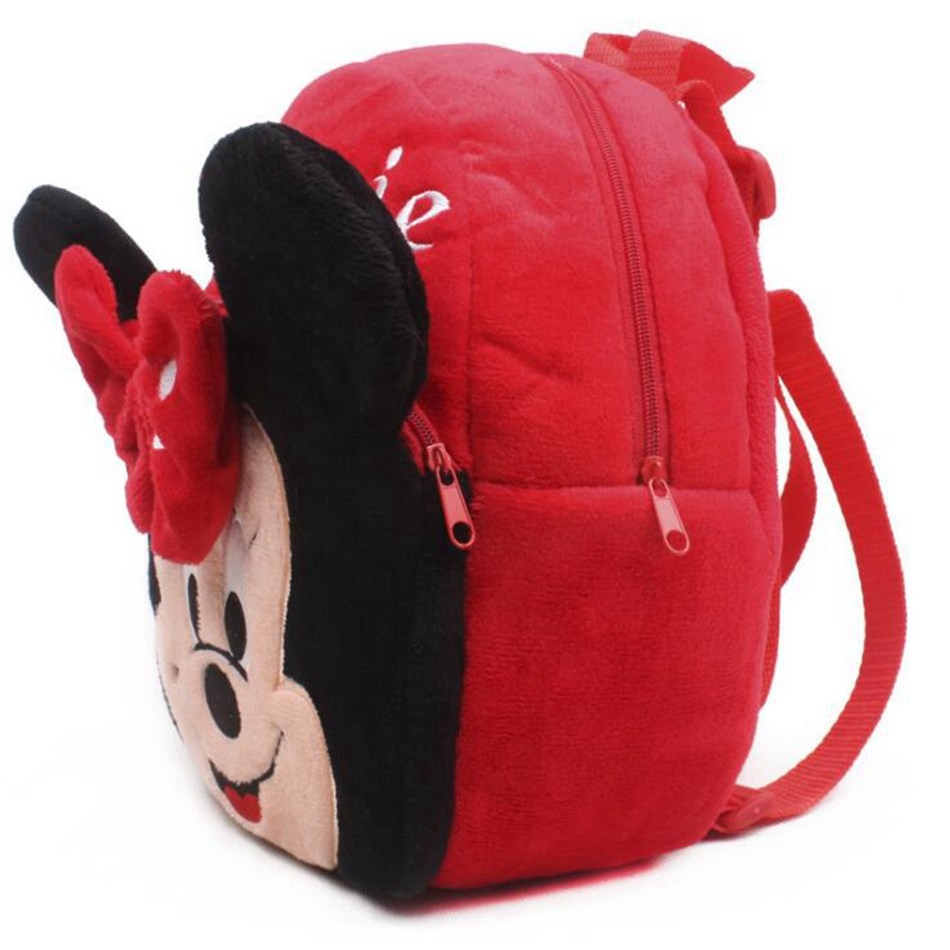 Cute-Cartoon-Baby-Minnie-School-Bag-toys-Plush-Children-Mini-Backpacks-For-Kindergarten-Boy-Girl-Shoolbag-1
