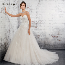 HIRE LNYER Vestidos Novias Boda 2019 A-line Wedding Dresses