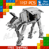 1157pcs Space Wars Universe New 05051 AT AT DIY Figure Building Blocks Tank Robots Toys Boys Gifts Compatible with LegoING