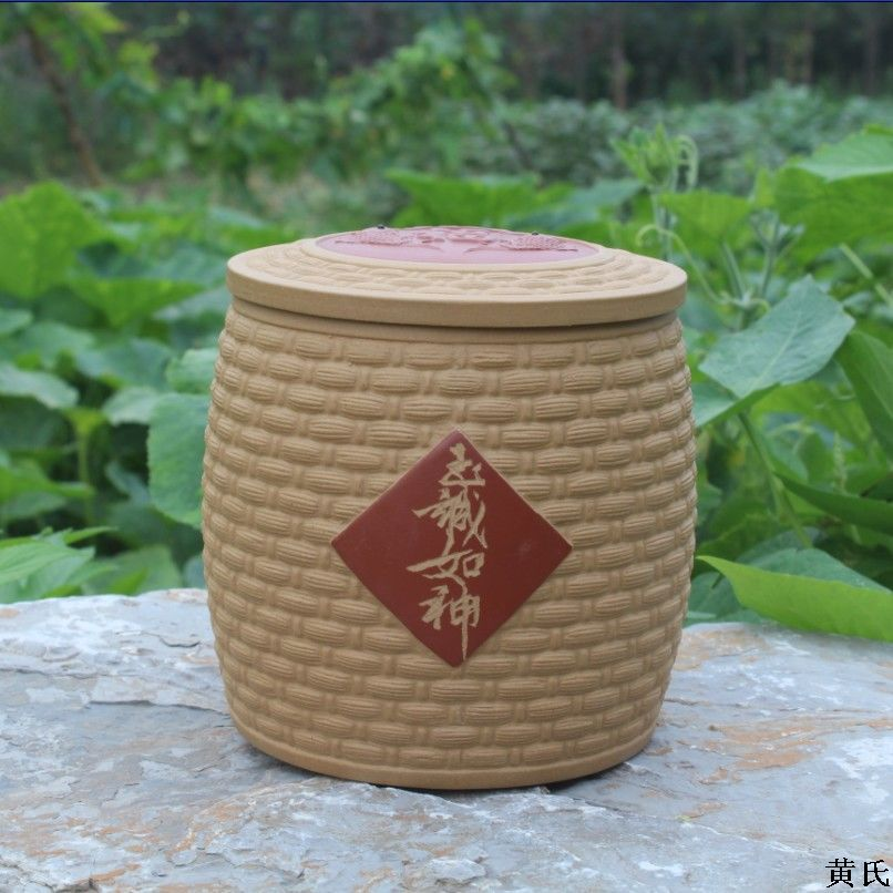 Yixing Yixing tea wholesale tea storage tank section of ore mud tank factory direct store Pisces bamboo mixed batch yixing tea wholesale pu er tea cake 3 mug selection mixed batch number