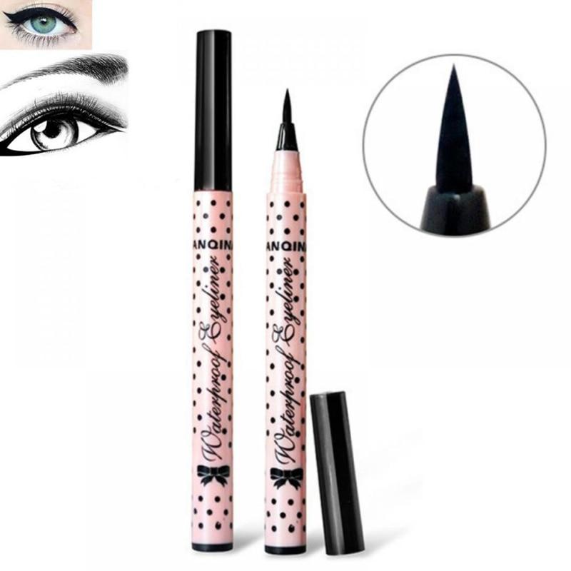1Pcs Black Long-lasting Eyeliner Waterproof Eyeliner Smudge-proof Liquid Eyeliner Pencil Cosmetics Beauty Makeup Tools