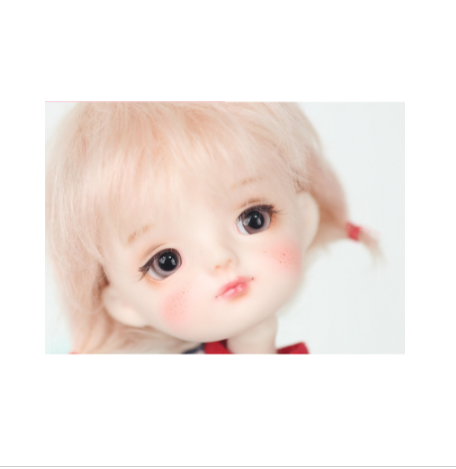 Free shipping 1 8 BJD Doll Smile Ming make of risin