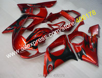 Hot Sales,Customize plastic fairing For Yamaha YZF R6 1998 2002 YZFR6 98 02 motorcycle bodywork Fairing (Injection molding)