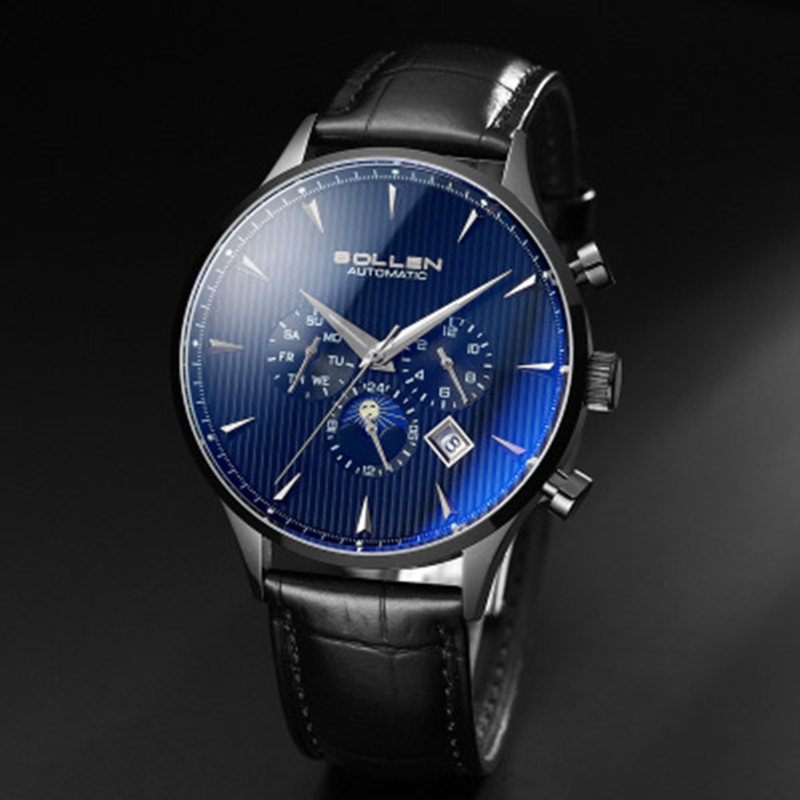 Здесь продается  Men Watches Top Luxury Brand New Design Automatic Mechanical Male Wristwatch high quality Men