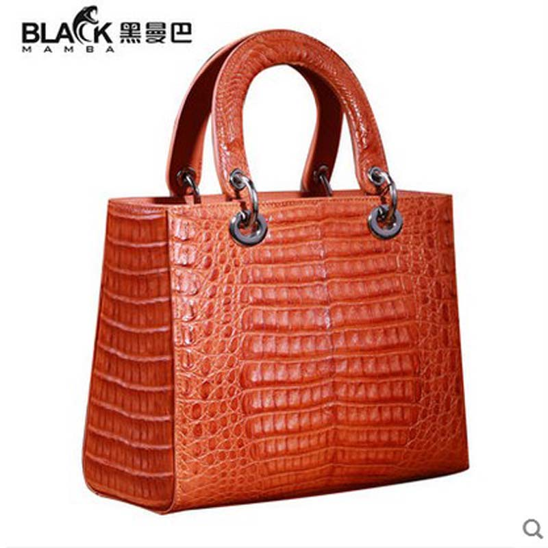 heimanba crocodile skin women bag single shoulder bag female handbag women handbag