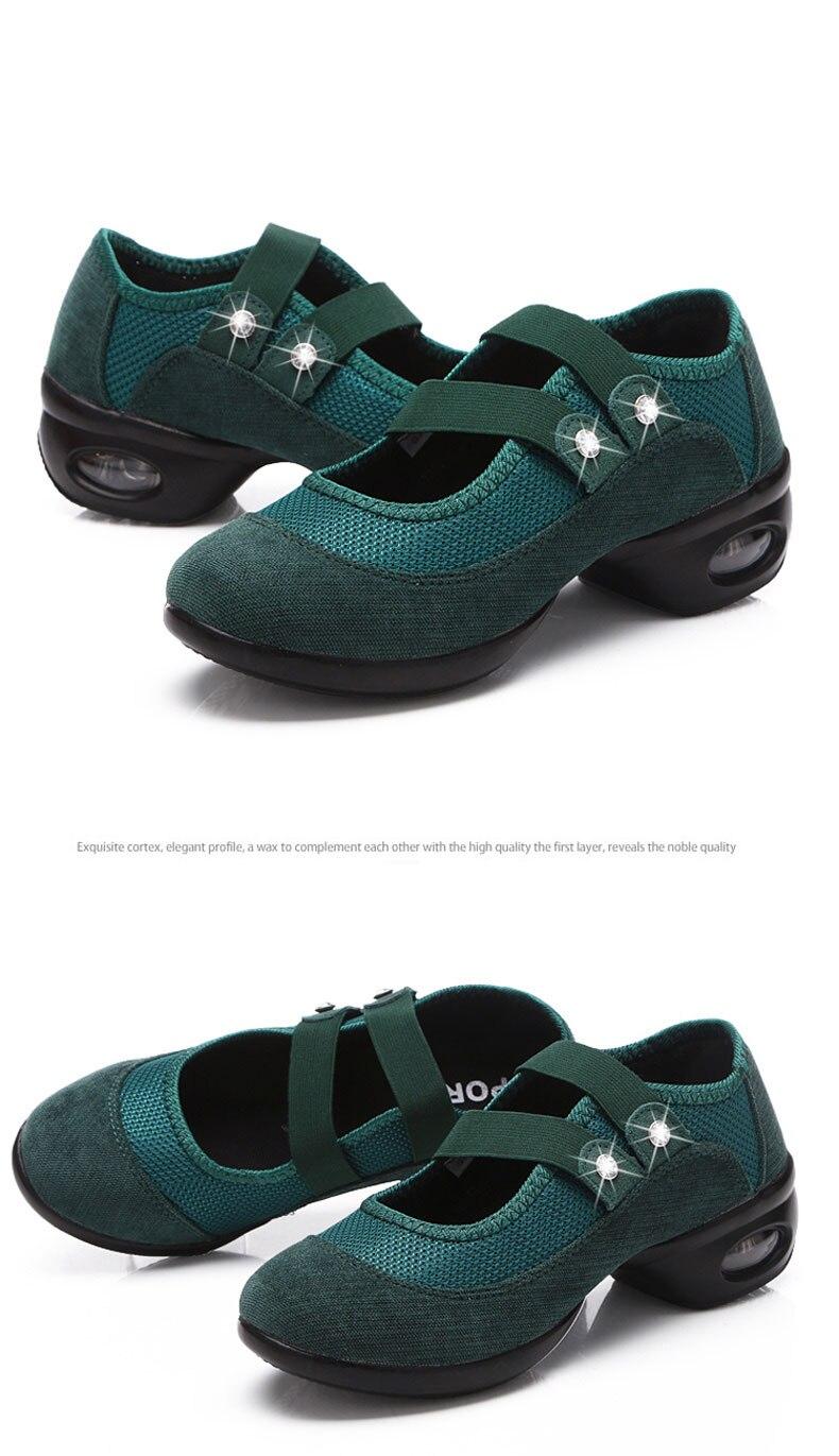 Mwy sapatos de dança meninas esportes sola