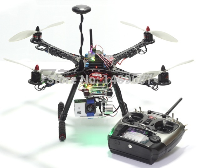 S500 Quadcopter Carbon Frame Kit APM2.8 W/ M8n GPS 920 Motor Simonk 30A ESC 9450 Propeller Rodiolink AT9S F450 Upgrade Best FPV