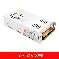 Alimentation à découpage 24 V 20A 500 W led trafo alimentation led ac dc 24 v alimentation dc 24 v led transformateur d'éclairage de conducteur