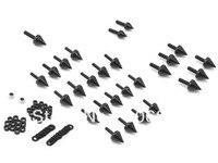 Black Spike Fairing Bolts Aluminum For Honda CBR 900RR CBR 929RR CBR 954RR