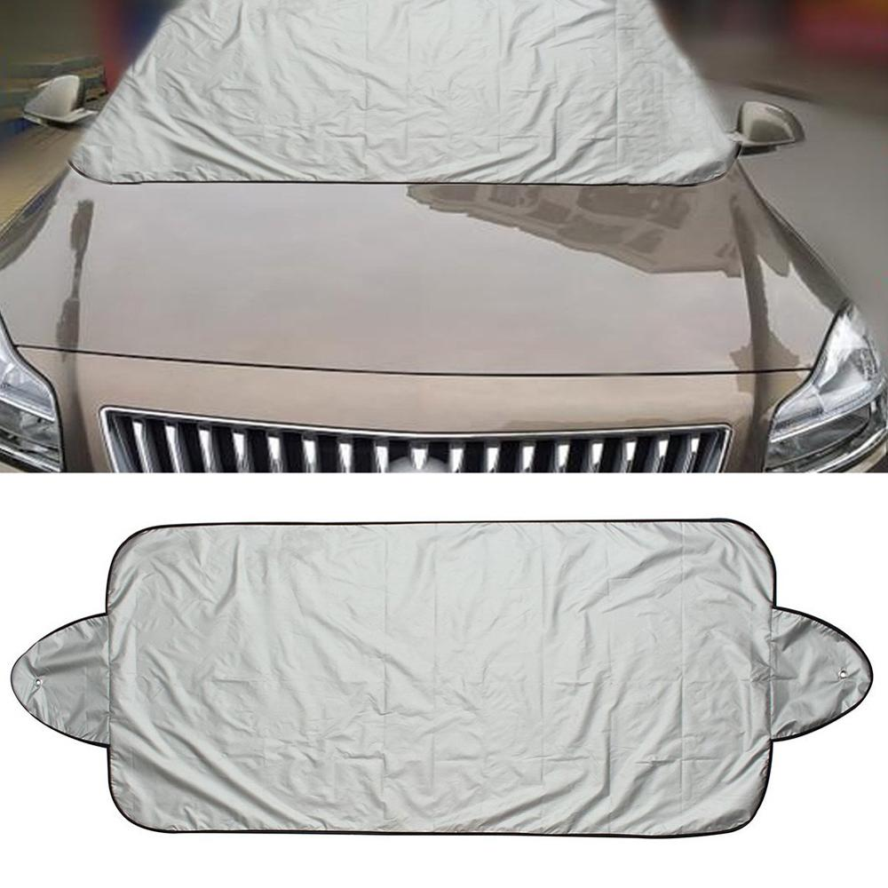 Car Windshield Visor Cover UV Protect Anti Ice Snow Frost Shield Dust Protection Sun Shade for Front Car Windshield